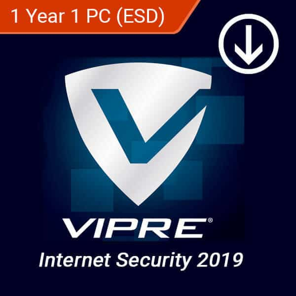 VIPRE Internet Security 2019 1 Year 1 PC Global (ESD)