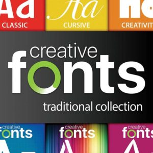 Creative-Fonts-Traditional-Collection